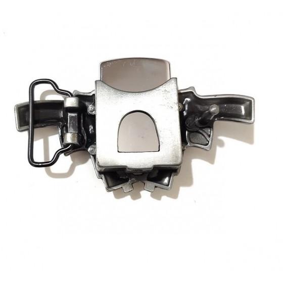 gasoline lighter colt western belt buckle with optional leather belt