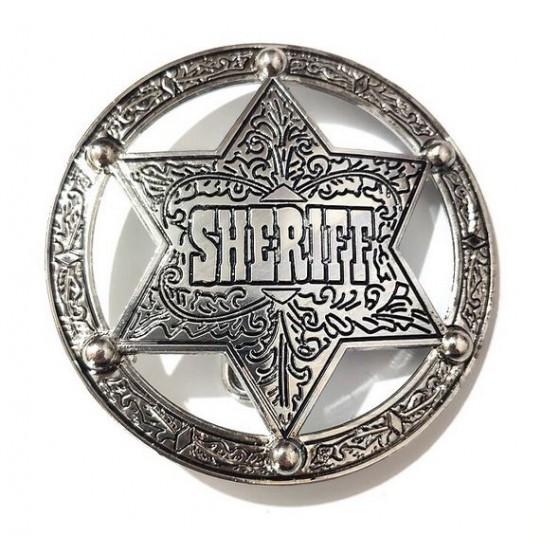 sheriff western belt buckle...