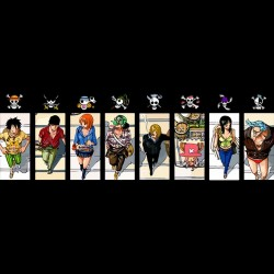 Tee shirt One Piece 8 table Fanart black sublimation