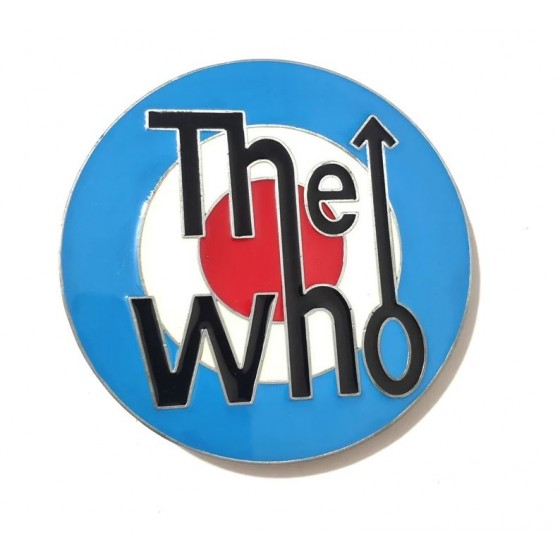 the who belt buckle with...