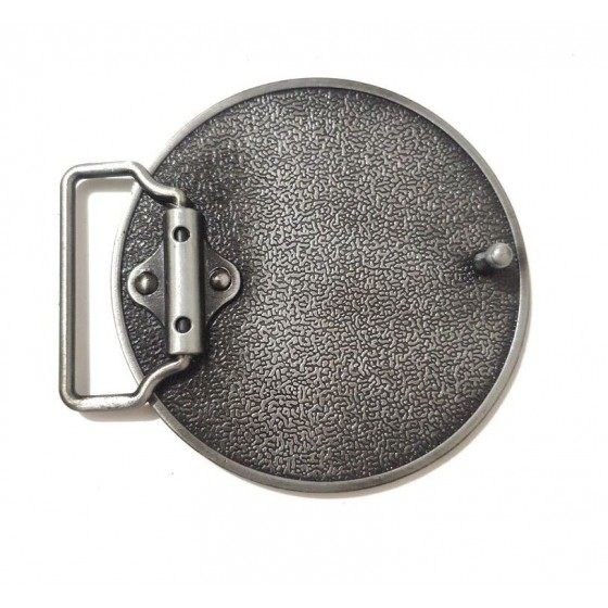 the who belt buckle with optional leather belt