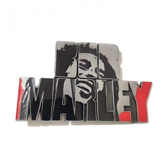 bob marley belt buckle with...