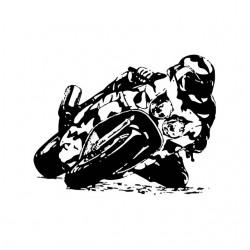 Tee shirt moto de course...