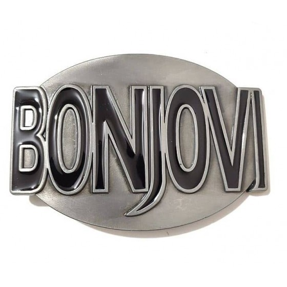 bonjovi belt buckle with...