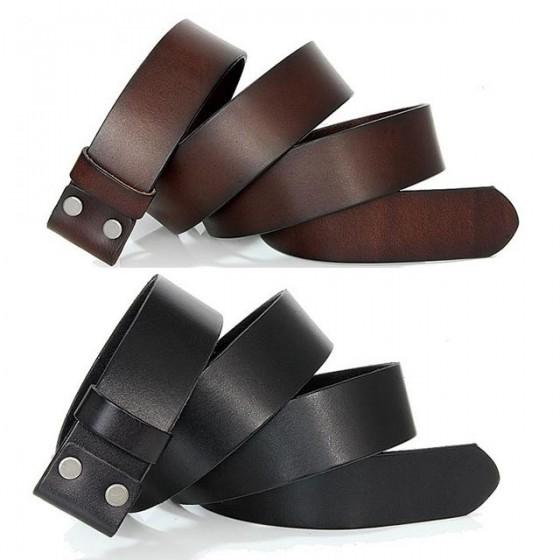 slipknot belt buckle with optional leather belt