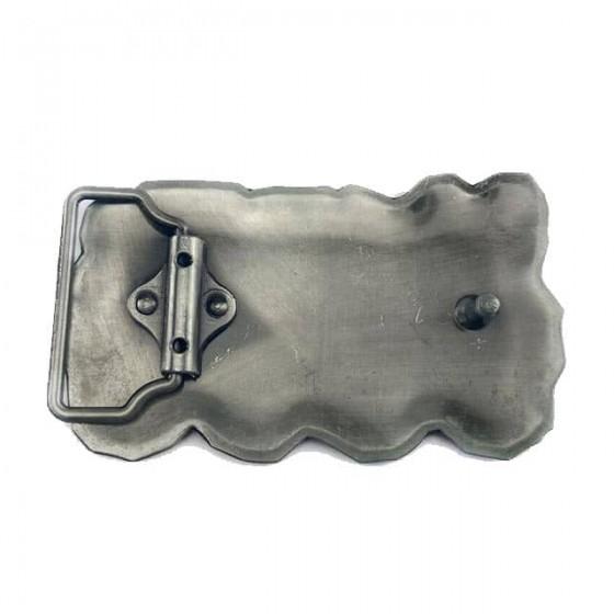 misfits belt buckle with optional leather belt