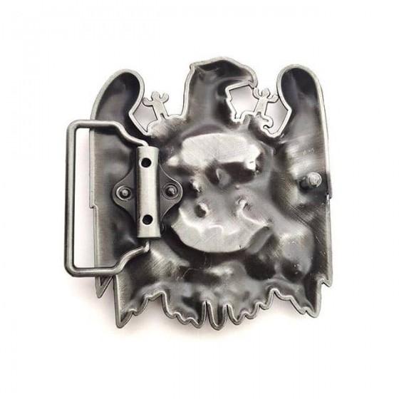 slayer belt buckle with optional leather belt