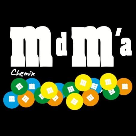 T-shirt M & M's parody mdma black sublimation
