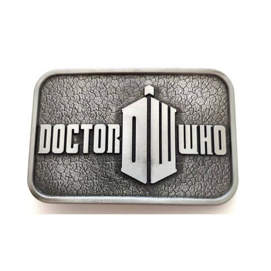 doctor who belt buckle with...