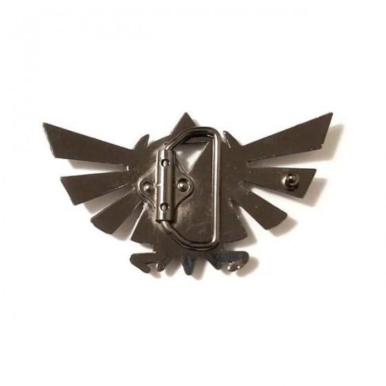 triforce zelda belt buckle with optional leather belt