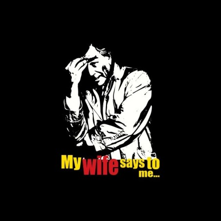 Columbo My wife says to me black sublimation t-shirt