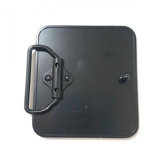boucle de ceinture minecraft avec ceinturon cuir optionnel