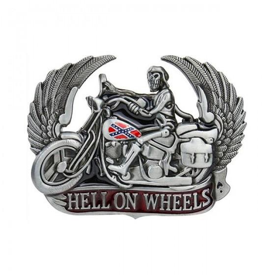 biker hell on wheels belt...