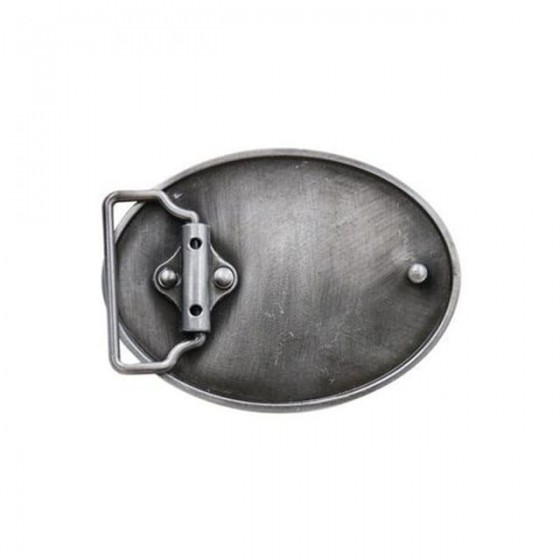 rule of gun belt buckle with optional leather belt