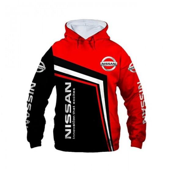 nissan jacket hoodie