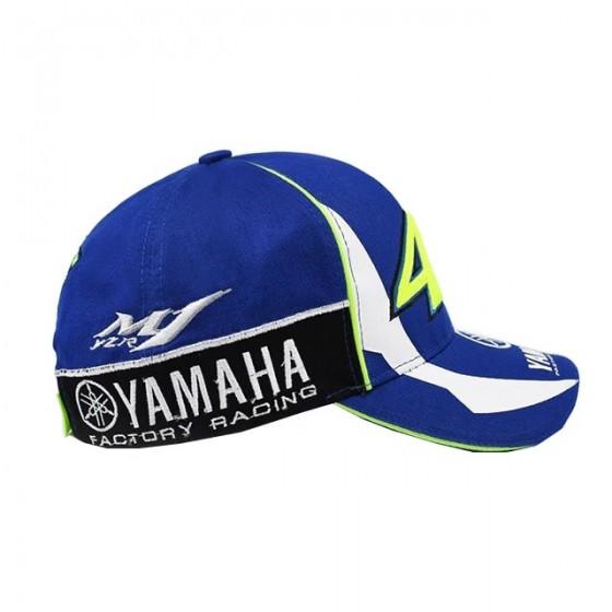 casquette yamaha 46 the doctor brodée bleu