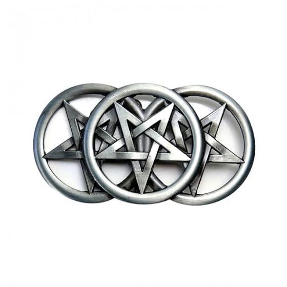 triple pentagram belt...