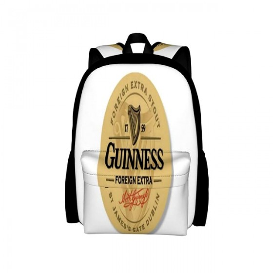 guiness backpack old school