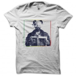 Lee Scratch Perry artwork white sublimation t-shirt