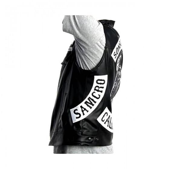 sons of anarchy samcro vest jacket no sleeve