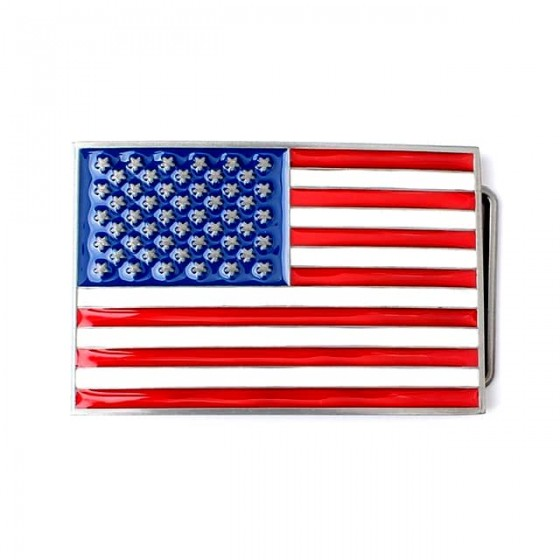 american flag belt buckle...