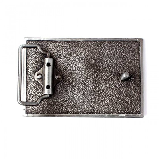 american flag belt buckle with optional leather belt