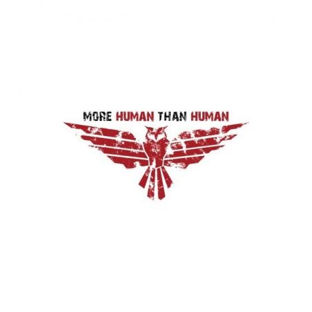 Blade Runner t-shirt more human than human white sublimation