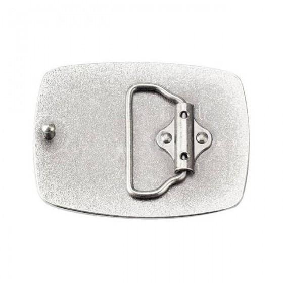 boucle de ceinture tête de mort avec ceinturon cuir optionnel