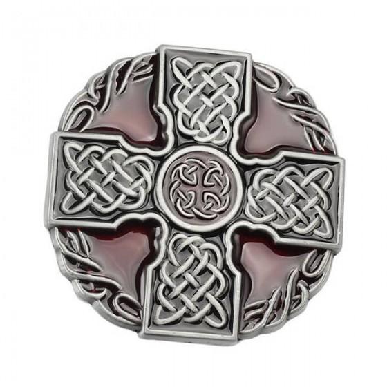 celtic cross belt buckle...