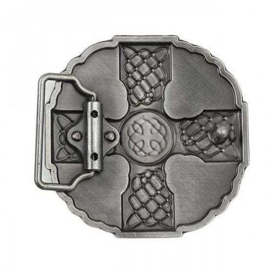 celtic cross belt buckle with optional leather belt