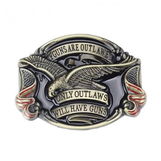 outlaws eagle bikers belt...