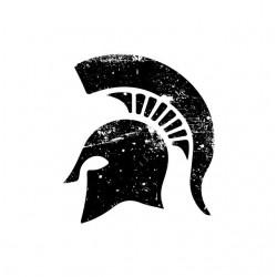 Tee shirt Spartacus casque...