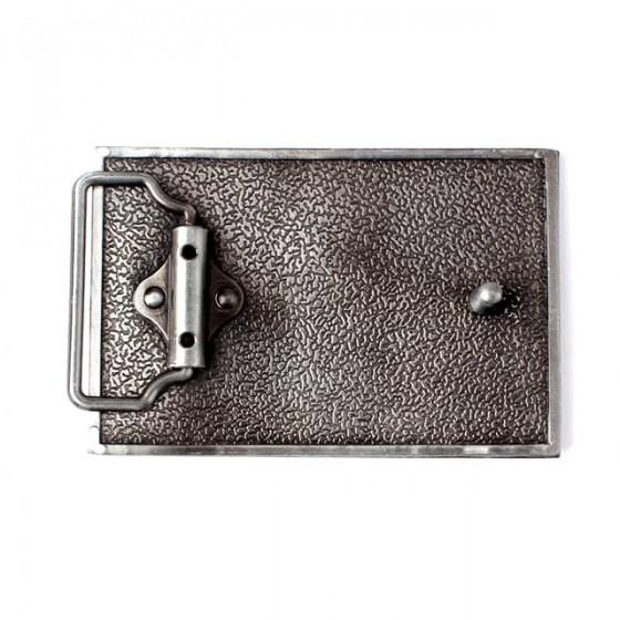 united kingdoms flag belt buckle with optional leather belt