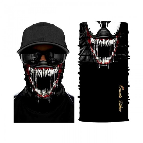 venom facial mask neck gaiter