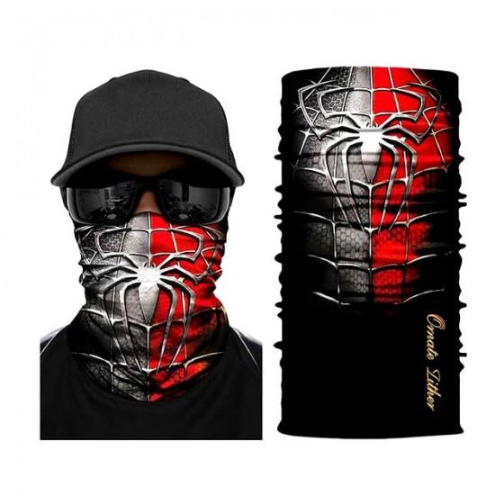 masque facial spiderman...