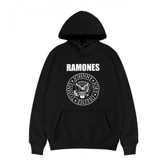 ramones hoodie rock