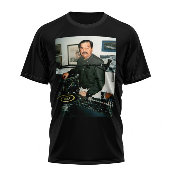 dj saddam shirt sublimation