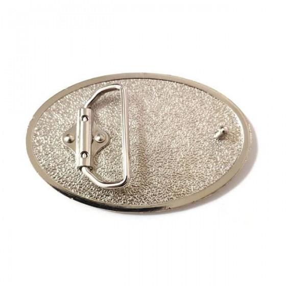 boucle de ceinture caterpillar avec ceinturon cuir optionnel