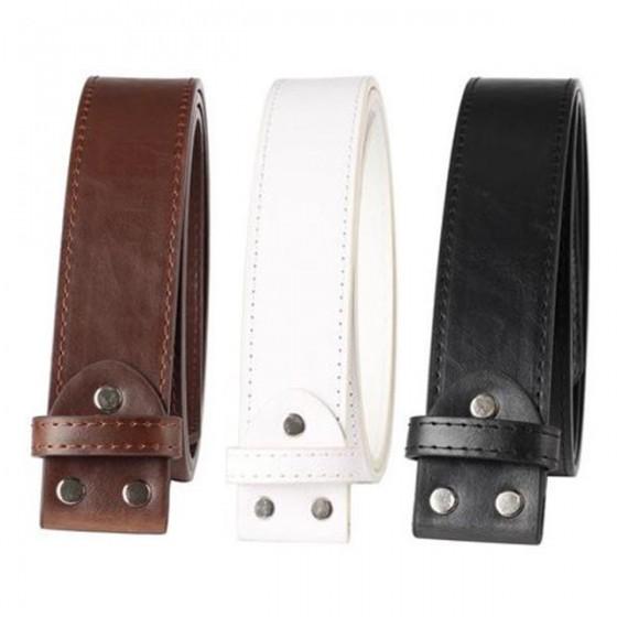 Horseshoe belt buckle with optional leather belt