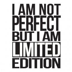 Tee shirt I am not perfect...