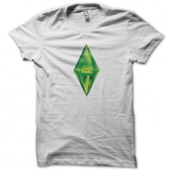 T-shirt the white sublimation sims