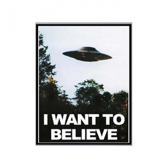 affiche i want to believe...