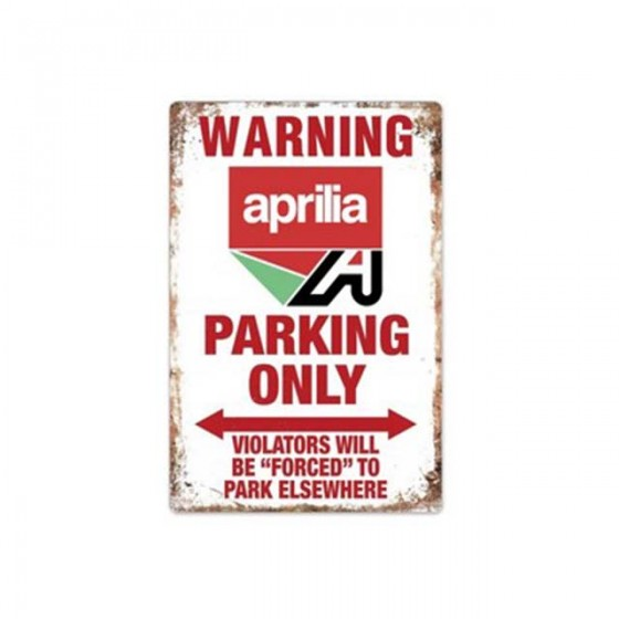 aprila parking only...