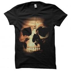 T-Shirt Shirt skull graphic black sublimation