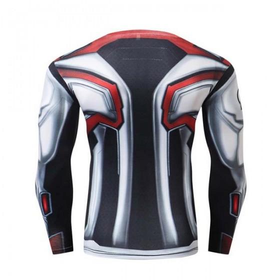 avengers fitness shirt gym compression sublimation