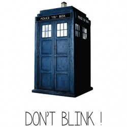Tee shirt Doctor Who Don't...