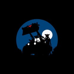T-shirt Gremlins moonlight...