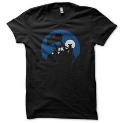 T-shirt Gremlins moonlight bulldozer black sublimation