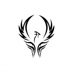 Phoenix tribal tattoo...