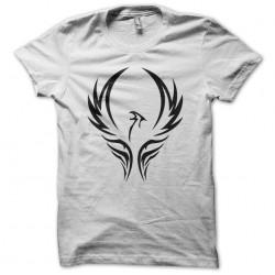 Phoenix tribal tattoo t-shirt artwork white sublimation